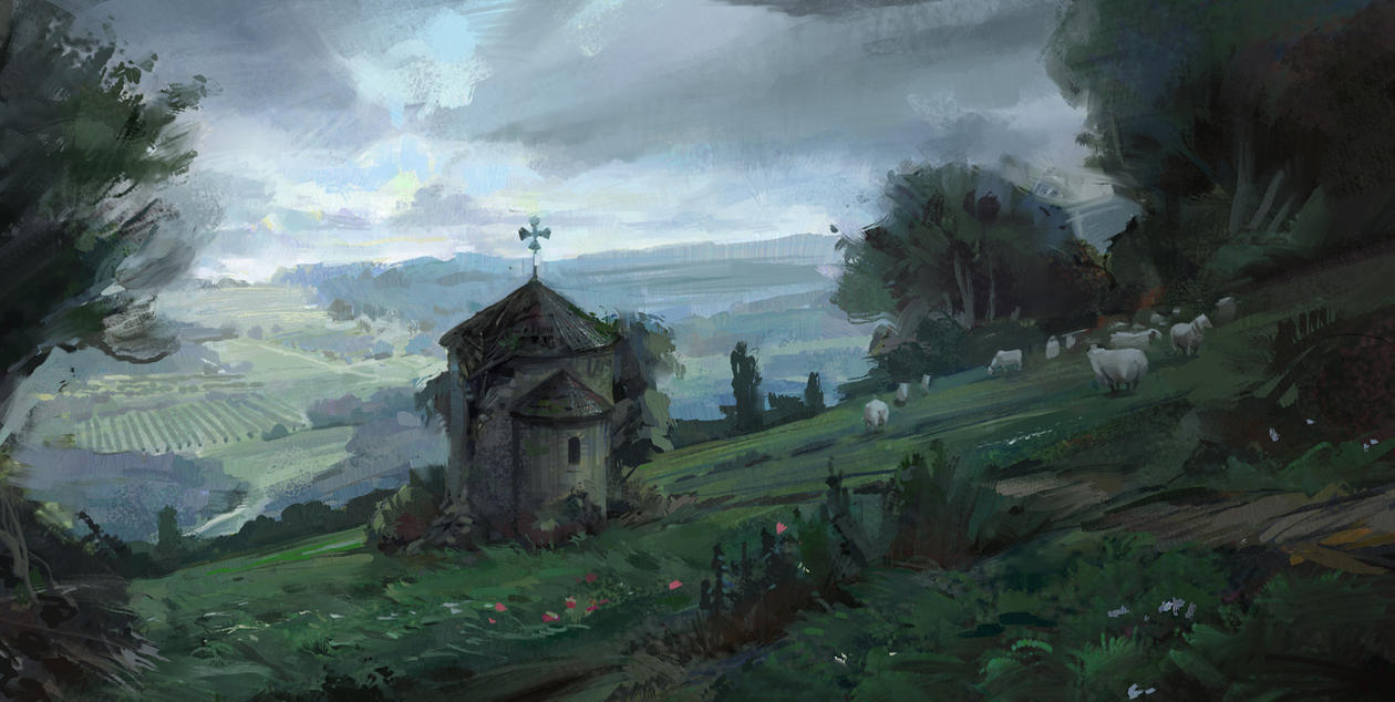 old chapel by Skvor