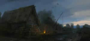 a hut by Skvor