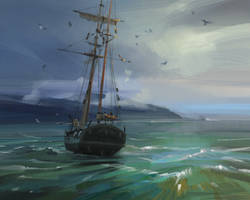 TREASURE ISLAND by Skvor