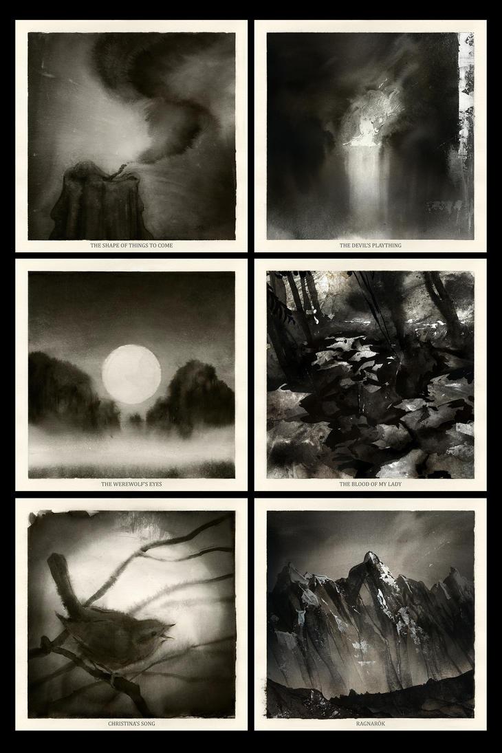 Glorious Dark Folk - side A by Skvor