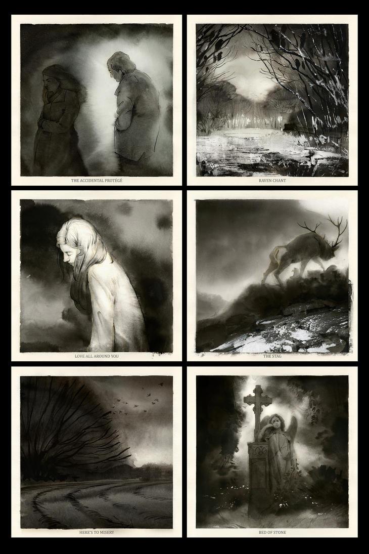 Glorious Dark Folk - side B by Skvor
