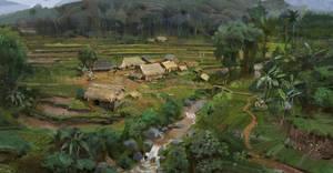 VIETMINH: Mountain village