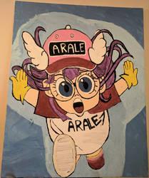 Arale Dragon Ball anime