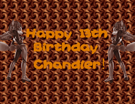 Chocolate birthday gift by SilverYoshi