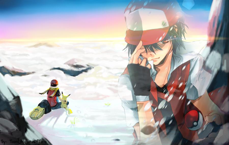 pokemon trainer red st...