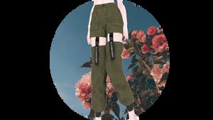 [MMDXSims4] KONI-Cut Out Cargo Pants +DL