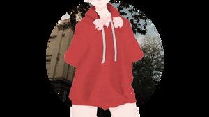 [MMDXSims4] PUKO-Vol.2-Oversized Hoodie +DL