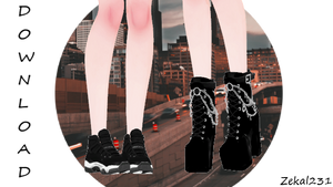 [MMDXSims4] Jump Shoes And Illuminati Boots +DL