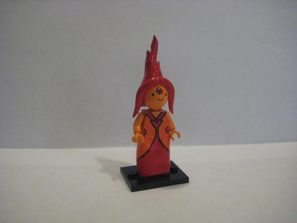 NEW Flame princess Lego. by Kipkila