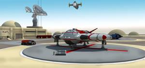 Dusty Spaceport