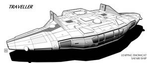 Traveller: Leaping Snowcat Class Safari Ship