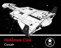 Nishemani Class Corsair by biomass