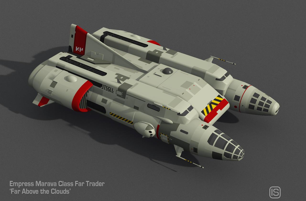 Type A2 Far Trader Vue Render