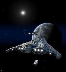 Perseus Class Assault Cruiser by biomass