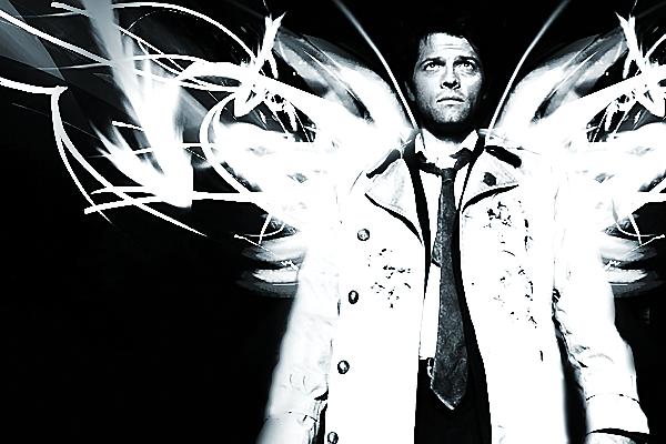 Castiel Wings Of An Angel By FallenIdols