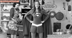 Supergirl doesn't need a TARDIS!