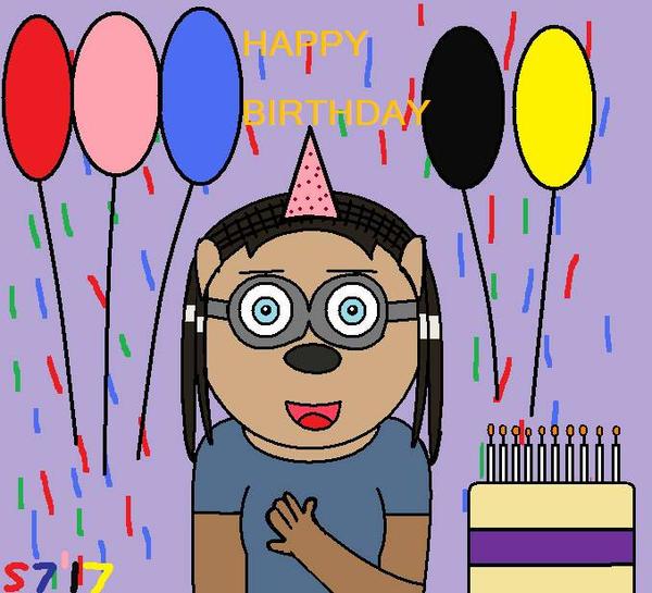Happy Birthday Alicia By Schumacher7 On DeviantArt