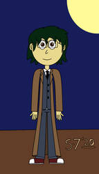 Rory Cosplaying as The 10th Doctor by schumacher7