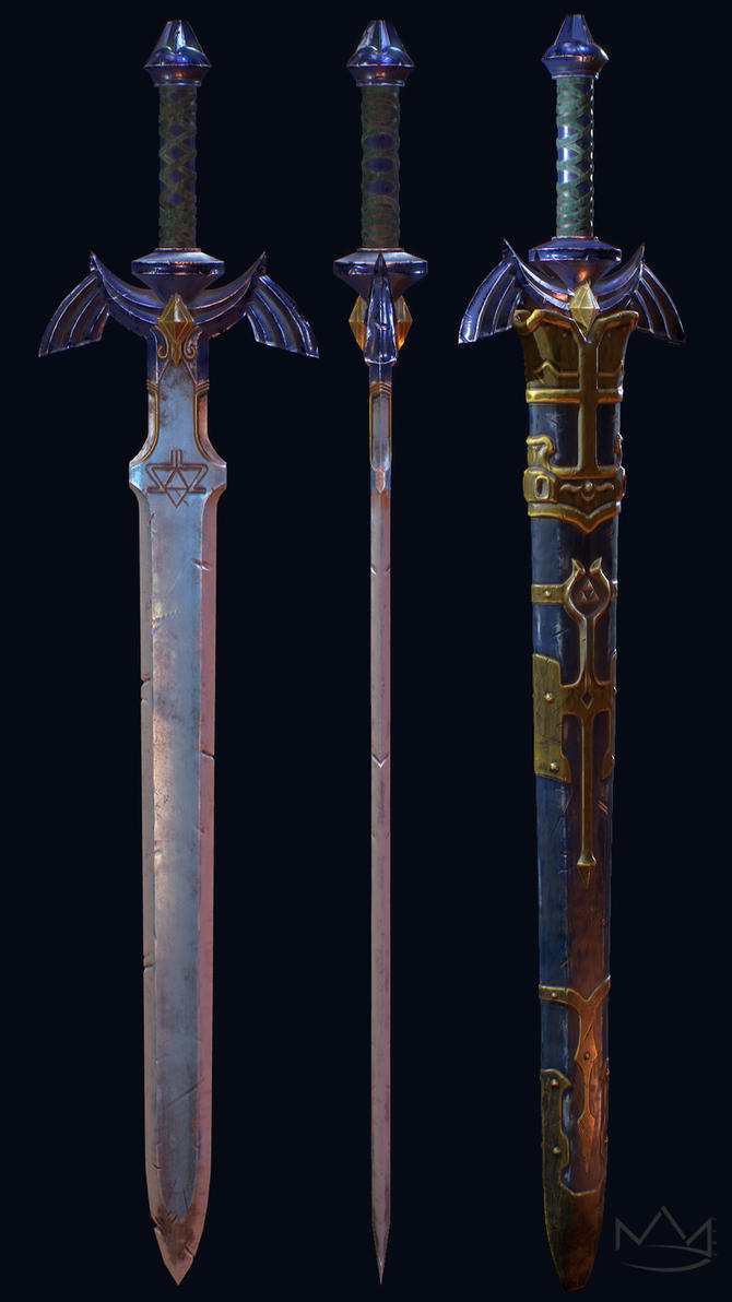 Master Sword by Nick-A-D