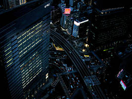 Night Time in the City by RobbyRobRob241