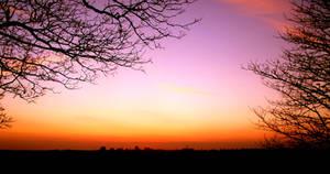 Sunset over Preston 1