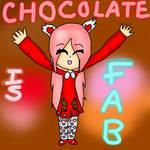 CHOCOLATE IS FAB - February by FluffePuff