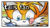 Tails Stamp by Abbu1STAMPS