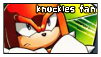 Knuckles Stamp by Abbu1STAMPS