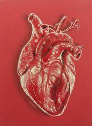 Human Heart by artbygadi