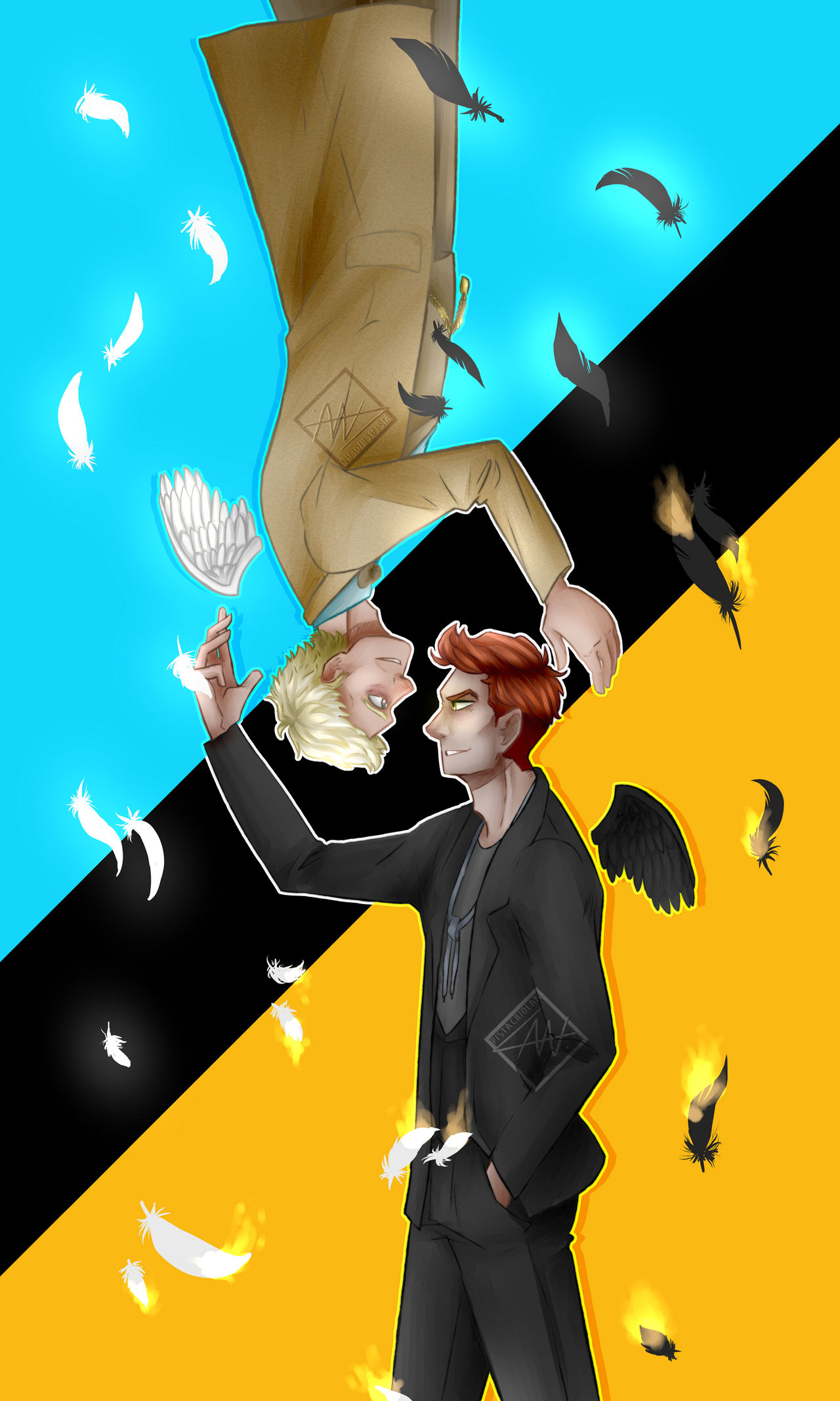 Good Omens] From Hell to Heaven and Back! by Laneusz on