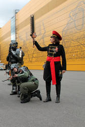 StarCon 2016 - Commissar and 404th Sofa Regiment