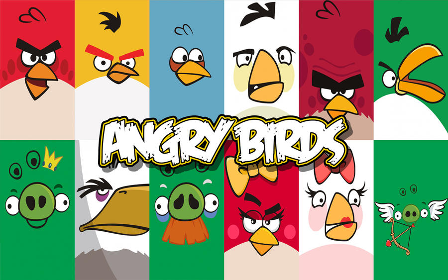 Dseo   Angry Birds Wallpaper By Schumacher