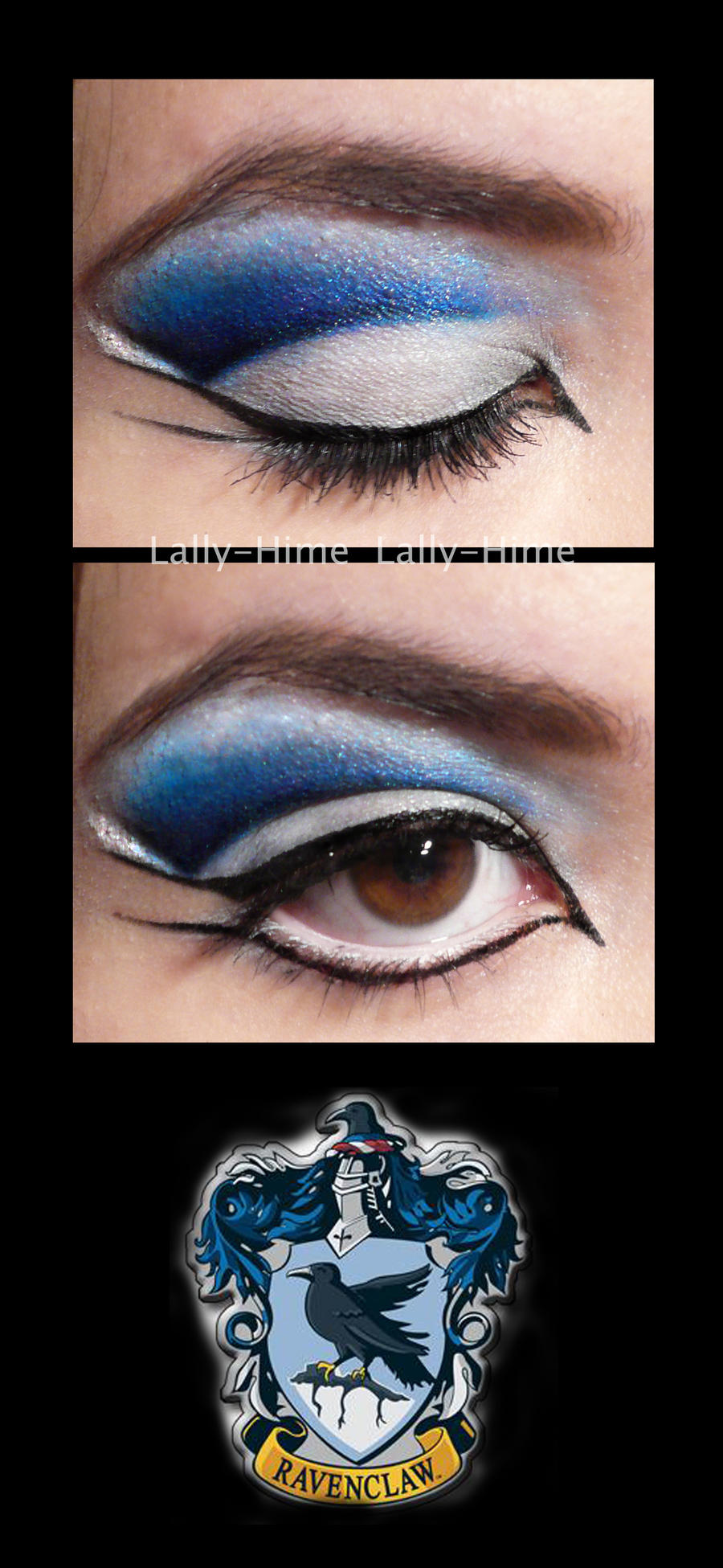 Ravenclaw Make Up by Lally-Hime