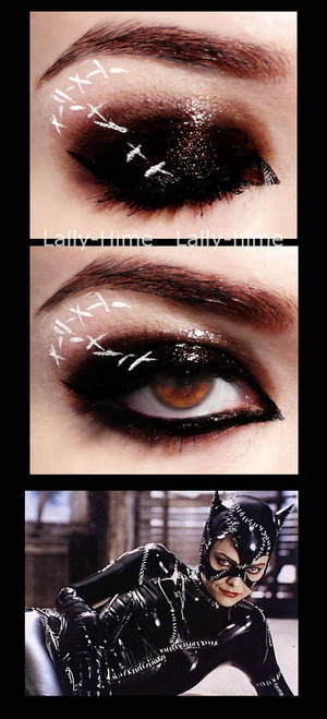 The Villains- Catwoman Make Up