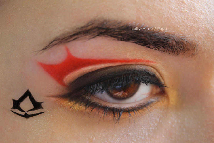 Assassin's Creed Make-up by Lally-Hime