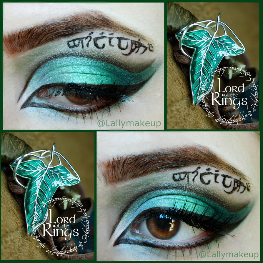 LOTR makeup by Lally-Hime