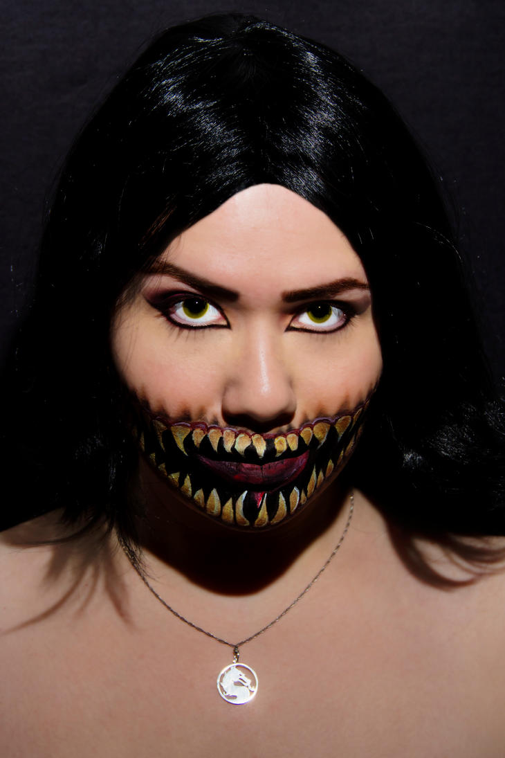 Mileena Makeup by Lally-Hime