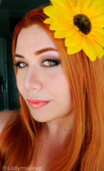 League of Legends Leona Makeup by Lally-Hime