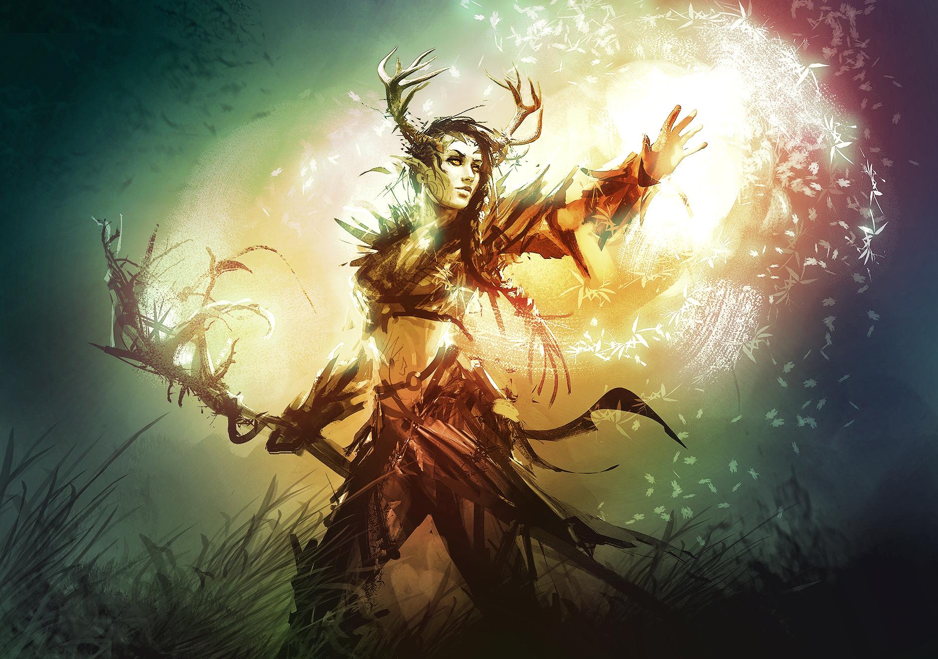 Amazing druid by GishProud