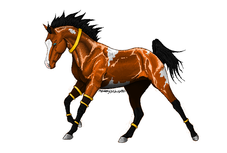 First Pixel Horse by Astusapes