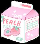 [F2U] peach milk