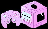 [F2U] nintendo pastel cube by ivaliii