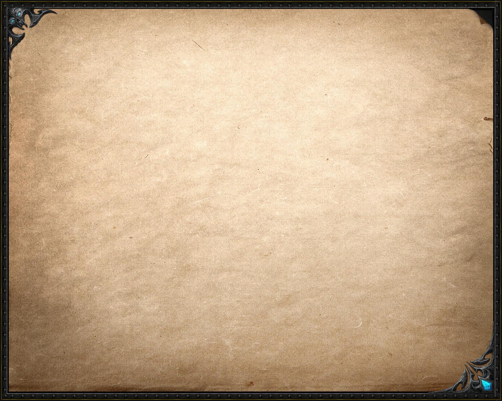 Warcraft Parchment by RepKo1