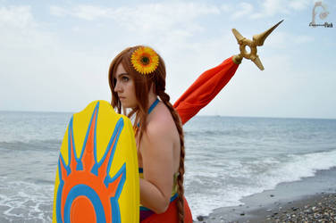 Leona (Poolparty) - League of Legends by maryddk