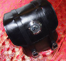 Motorcycle Leather Bag 1