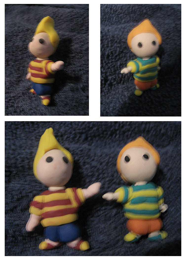 Mother 3 lucas clay