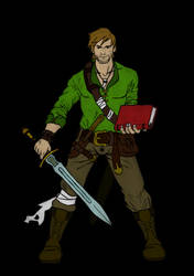 Richard Cypher Color by Tw1stedMetalPirate