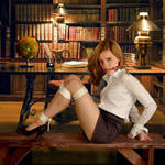 Hermione in the Library by vvvan[1]