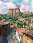 Siena. Basilica of St. Dominic