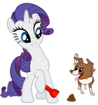 Rarity cleaning up